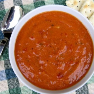 Simple Skinny Chunky Tomato Soup – 6 WW Freestyle SmartPoints