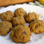Low-Fat Banana Date Coconut Cookies