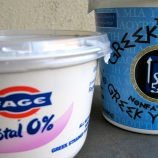 Greek Yogurt Taste Test for Weight Watchers
