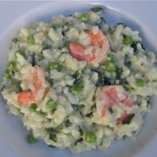 Easy Shrimp Risotto