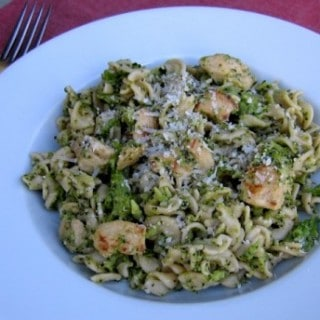Skinny Pasta with Broccoli & Chicken
