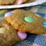 Skinny M&M Cookies