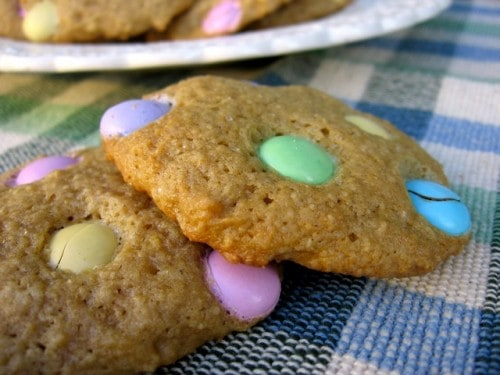 Low Fat M&M Cookies