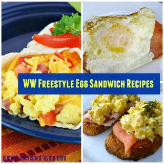 WW Freestyle Egg Sandwich Recipes