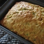 Skinny Zucchini-Apple Loaf Cake