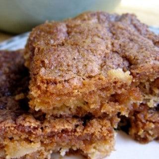 Skinny Apple Brownies