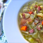 Skinny Leftover Corned Beef and Cabbage Soup