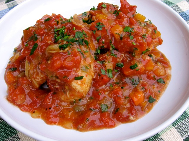 Skinny Slow Cooker Chicken Thighs Osso Buco