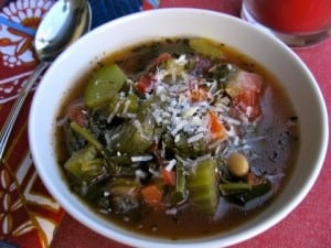 Healthy Tuscan Vegetable & White Bean Soup