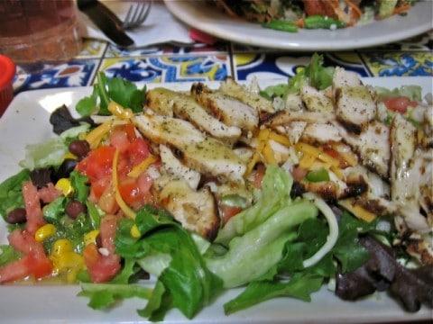 Chili's Grilled Chicken Salad