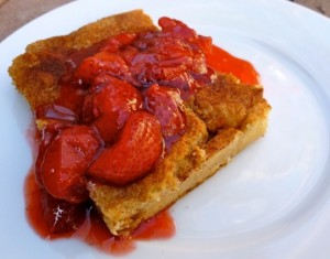 Skinny Baked French Toast with Strawberry Topping Weight Watchers Easter Recipes