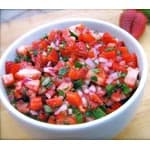 Skinny Strawberry Salsa