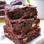 Chocolate Coconut Cake Mix Cookie Bars Made Lighter