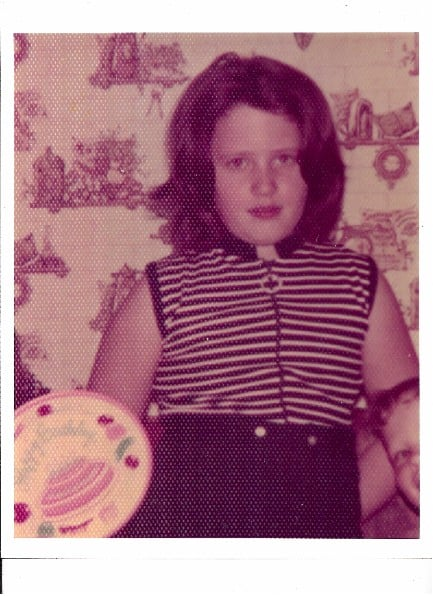Martha McKinnon (Lifetime Weight Watcher) as a chubby child