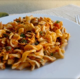 Pasta with Tuna & Tomatoes