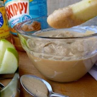Skinny Creamy Peanut Butter Dip