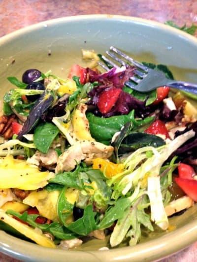 Paradise Bakery Strawberry Poppyseed Salad