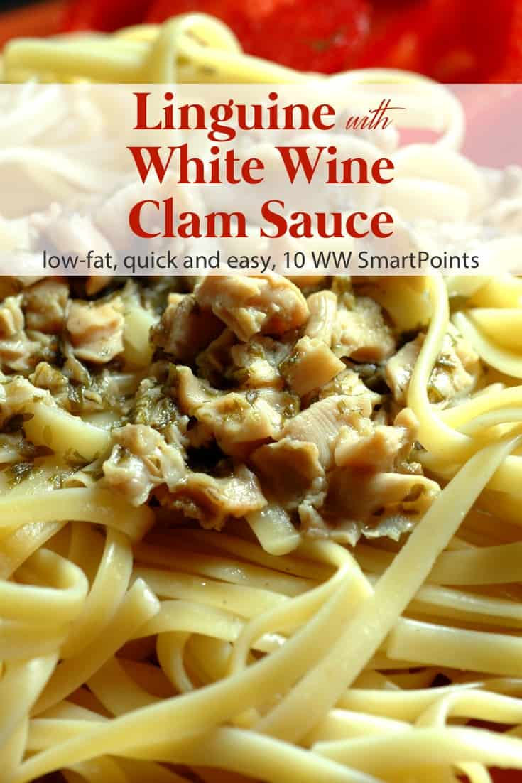 Low Fat Spaghetti With White Wine Clam Sauce Simple Nourished Living