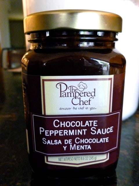 Pampered Chef Chocolate Peppermint Sauce