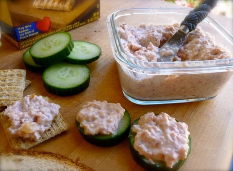 Skinny Ham Salad Spread - 2 Weight Watchers Freestyle SmartPoints
