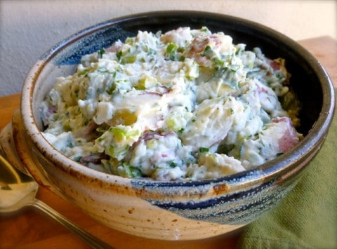 Weight Watchers Lightened Up Potato Salad