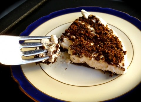 Mint Chocolate Whipped Cream Pie