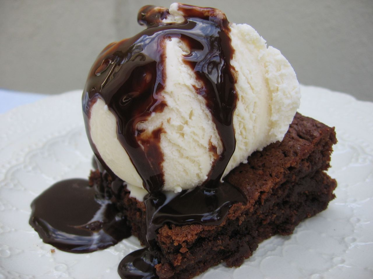 Brownie a la mode