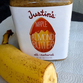 1/2 Banana & Almond Butter