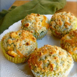 Skinny Broccoli Cheese Muffins Recipe