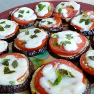 Easy Healthy Skinny Baked Eggplant Parmesan Melts