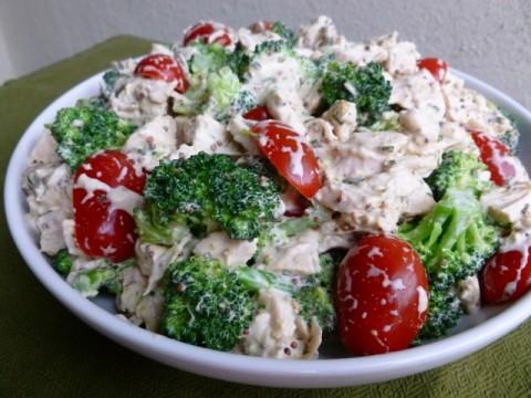 Barefoot Contessa Mustard Chicken Salad Lightened Up for Weight Watchers