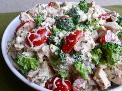 Ina Garten Broccoli barefoot contessa mustard chicken salad | weight watchers chicken