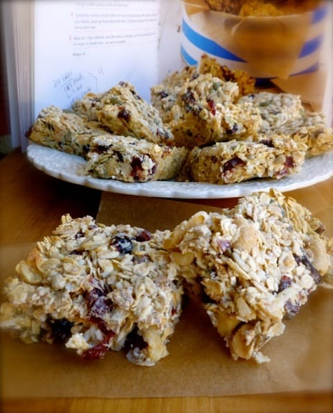 How to Make Granola Bars Nigella's Breakfast Bars