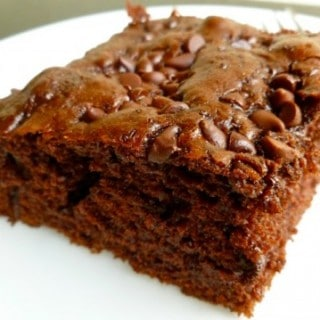 Skinny Chocolate Chip Snack Cake