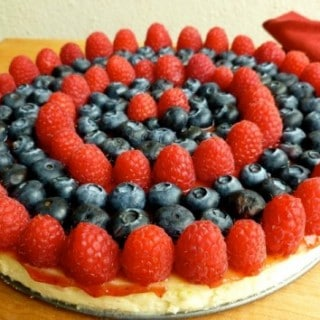 Ellie Krieger's Easy Light Ricotta Cheesecake with Fresh Berries