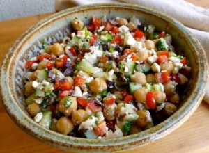 Weight Watchers Chickpea & Feta Salad