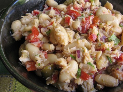 ... Friendly Healthy Tuna and White Bean Salad • Simple Nourished Living