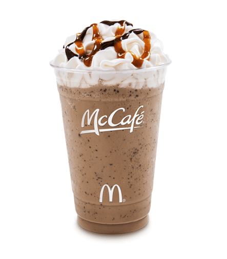 McDonald's Chocolate Chip Frappe