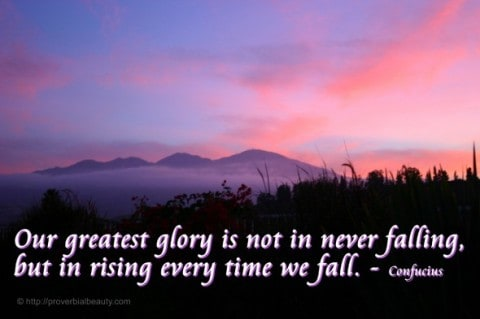 greatest glory photo quote