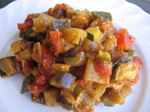 Easy Weight Watchers Ratatouille
