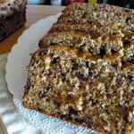 Bran Banana Coconut Chocolate Chip Bread