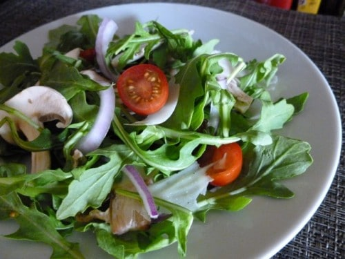 Weight Watchers Italian Arugula Salad