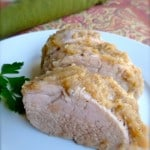 Pork Roast with Applesauce