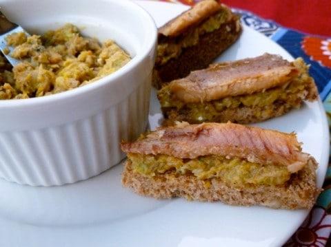 Sardine Toasts