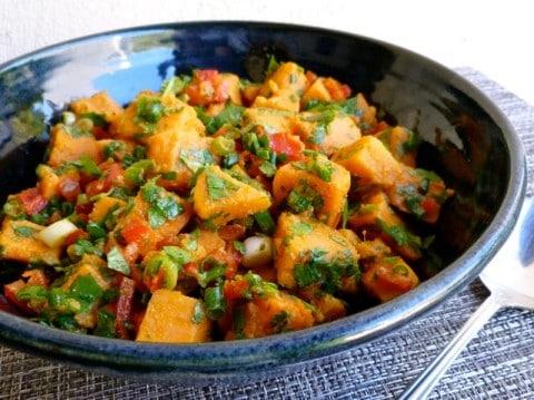 Easy Healthy Southwestern Sweet Potato Salad