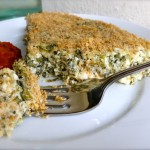 Spinach & Feta Crustless Quiche