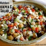Weight Watchers Chickpea Feta Salad