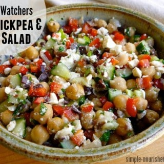 Weight Watchers Chickpea & Feta Salad Recipe