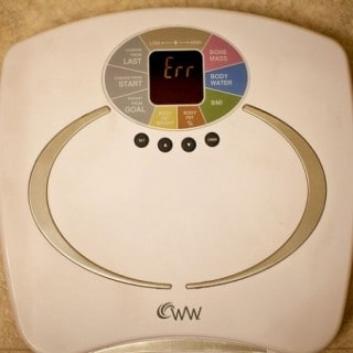 Weight Watchers Digital Bathroom Scale