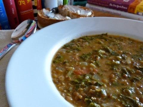 Swiss Chard Vegetable Soup of Lentil Swiss Chard Soup